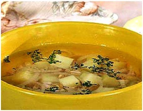 Первые блюда из зайчатины
