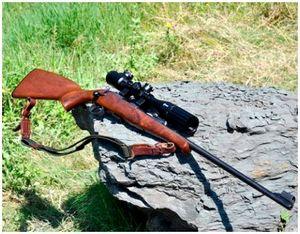 Охотничья винтовка CZ-452 ZKM под патрон .22 lr