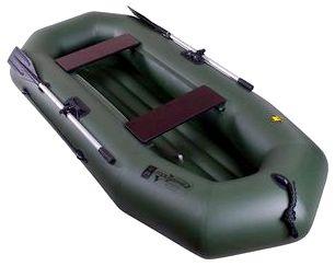 Гребная надувная лодка Таймень А-260 НД