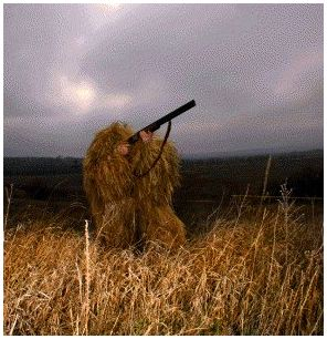 Средства маскировки на охоте