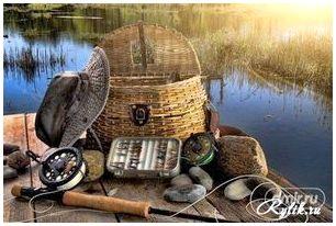 Снаряжение рыболова летом