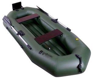Гребная надувная лодка Таймень А-260 НД ТР