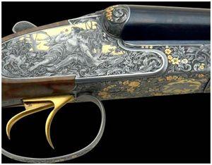 Виды гравировок охотничьего оружия
