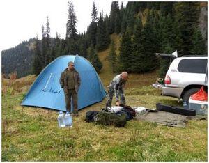 Безопасность при охоте в горах