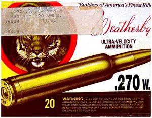 История оружейной фирмы Weatherby