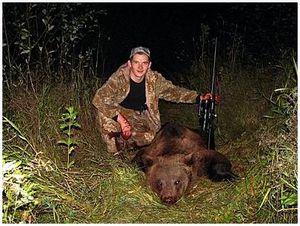 Ночная охота на медведя