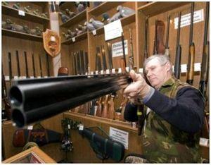 Правильное положение рук при стрельбе