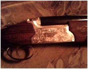 Двуствольное охотничье ружье ТОЗ-120 со спаренными стволами