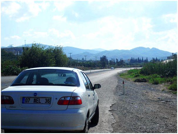 На машине по Турции