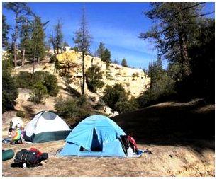 Дно палатки