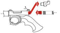 Подготовка к стрельбе ружья Таймень