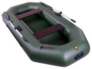 Гребная надувная лодка Таймень С-250 РС