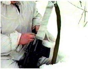 Некоторые способы сделать ружье максимально незаметным в зимнее время