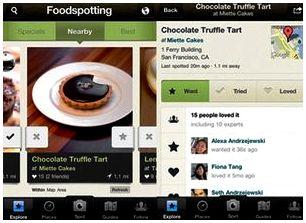 Приложения для iPhone-Foodspotting