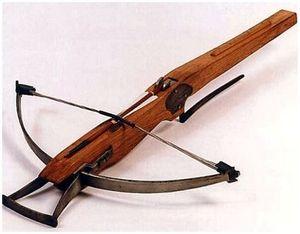 Арбалет - древнее оружие для битвы и охоты