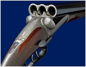 Трехствольное охотничье оружие