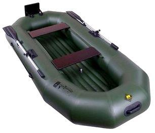 Гребная надувная лодка Таймень N-270 НД ТР