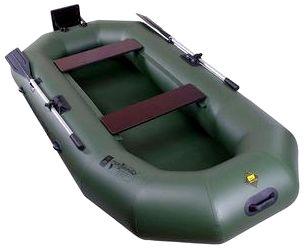Гребная надувная лодка Таймень N-270 ТР