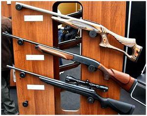 Охотничьи нарезные ружья Remington