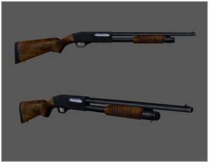 Основные отличия помповых ружей от других типов