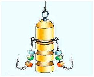 Изготовка балды с бронзовым (латунным) корпусом