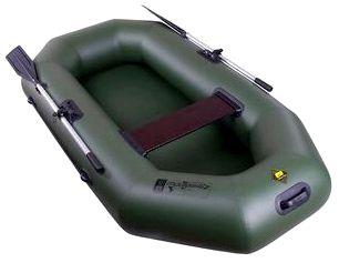 Гребная надувная лодка Таймень С-230 РС