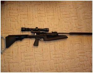 Пневматическое ружье для охоты