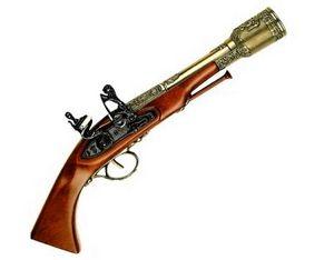 Первые охотничьи огнестрельные ружья