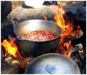 Суп походный