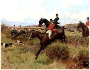 Как правильно управлять лошадью на охоте