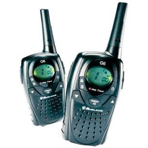 Портативные радиостанции midland GXT 1000 и midland GXT 1050