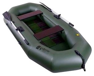 Гребная надувная лодка Таймень А-260 РС