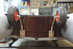 Применение транцевых колес для надувных лодок