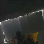 Trasa.Ru - Верхняя часть укрытия закладывается снежными блоками. Швы затираются снегом