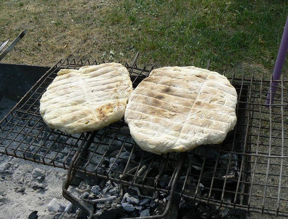 Хлеб в тайге своими руками