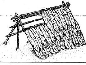 Как сделать шалаш из веток