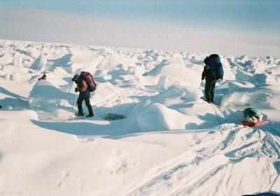 Средней глубины снег, отсутствие наста
