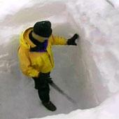 Trasa.Ru - Найдите либо приготовьте вертикальную снежную стенку 2-3 метра высотой