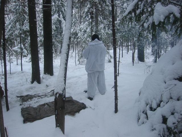 Ночевка в зимнем лесу. Организация ночлега. Часть 2