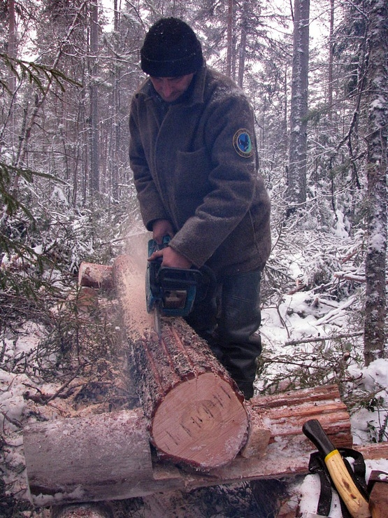 Карельский Робинзон 20 дней в зимнем лесу